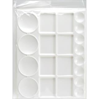 Pro Art Plastic Palette13inX10in 20 Cavity