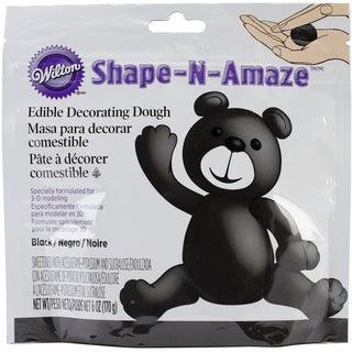 ShapeNAmaze Edible Decorating Dough 6ozBlack