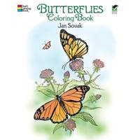 Dover PublicationsButterflies Coloring Book