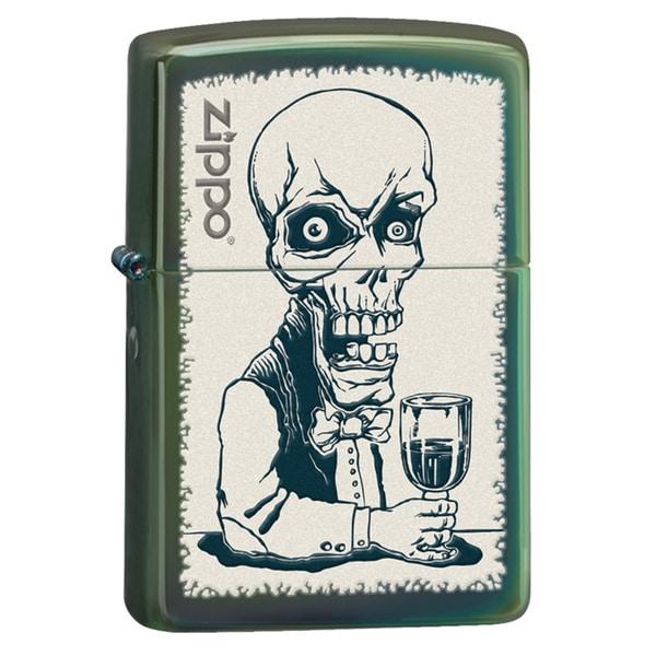 Zippo Skeleton Bartender Chameleon Windproof Lighter