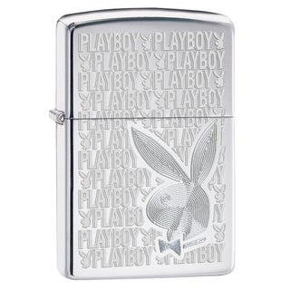 Zippo Playboy engraved High polish Windproof Lighter