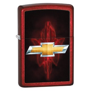 Zippo Chevy Candy Apple Red Windproof Lighter