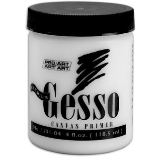 Premium Gesso Canvas Primer4oz