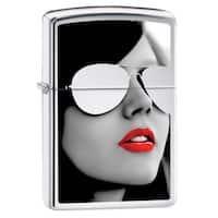 Zippo Sunglasses High Polish Chrome Lighter
