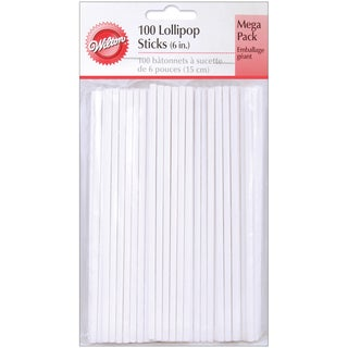Lollipop Sticks6in 100/Pkg