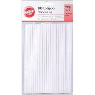 Lollipop Sticks6in 100/Pkg
