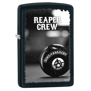 Zippo Sons of Anarchy Black Matte Windproof Lighter