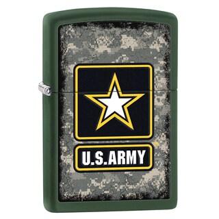 Zippo US Army Green Matte Windproof Lighter