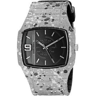 Diesel Unisex DZ1686 'Trojan' Grey Silicone Watch