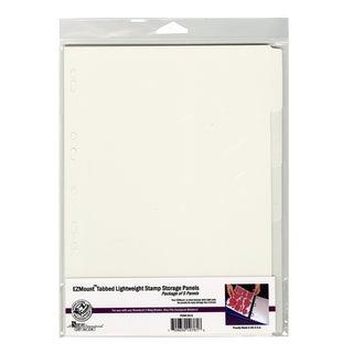 Stamp N' Store Tabbed Panels 5/Pkg8.25inX11.75in