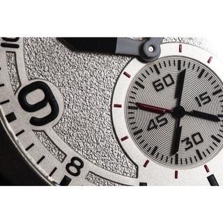 Stuhrling Original Men's Quartz Sport Leather Strap Watch