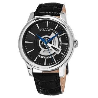 Link to Stuhrling Original Men's Quartz Leather Strap Watch Similar Items in Men's Watches