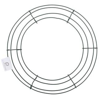 Wire Wreath Frame 18inGreen