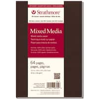 Strathmore Mixed Media Softcover Journal 5.5inX8in32 Sheets