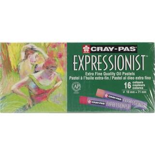 CrayPas Expressionist Oil Pastels 16/PkgAssorted Colors