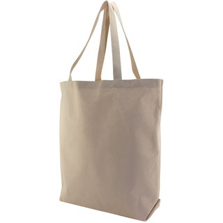 Canvas Large Tote Bag 13inX5inX17inNatural
