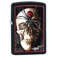 Zippo Mazzi Black Matte Windproof Lighter