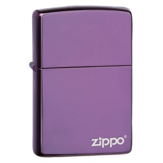 Zippo Abyss Lighter with Logo