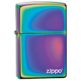 Zippo Spectrum Lighter with Logo