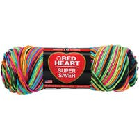 Red Heart Super Saver YarnBlacklight