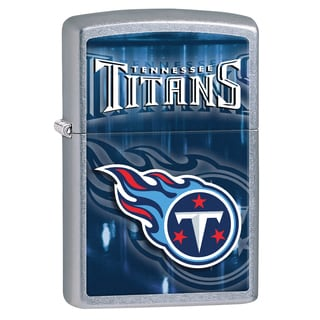 Zippo NFL Tennessee Titans Street Chrome Windproof Lighter