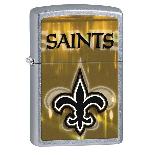Zippo NFL New Orlean Saints Street Chrome Windproof Lighter