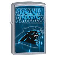 Zippo NFL Carolina Panthers Street Chrome Windproof Lighter