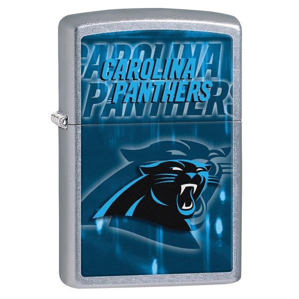 Zippo NFL Carolina Panthers Street Chrome Windproof Lighter