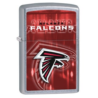 Zippo NFL Atlanta Falcons Street Chrome Windproof Lighter