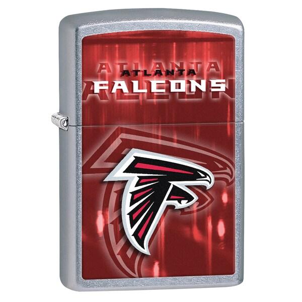 Zippo NFL Atlanta Falcons Street Chrome Windproof Lighter