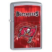 Zippo NFL Tampa Bay Buccaneers Street Chrome Windproof Lighter