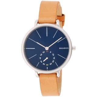 Skagen Women's SKW2355 'Hagen' Brown Leather Watch