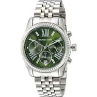 Michael Kors Women's MK6222 'Lexington' Chronograph Stainless Steel Watch
