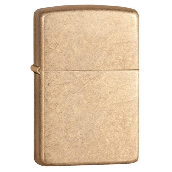 Zippo Armor Tumbled Brass Armor Tumbled Brass Windproof Lighter