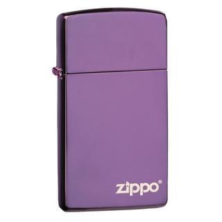 Zippo Slim Abyss Logo Lighter