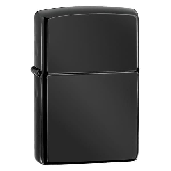 Zippo Black Ebony Windproof Lighter