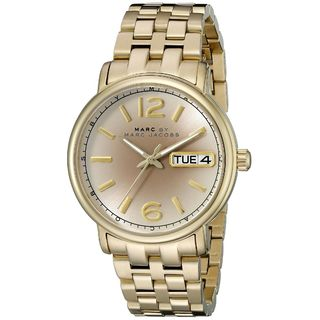 Marc Jacobs Women's MBM3429 'Fergus' Gold-Tone Stainless Steel Watch
