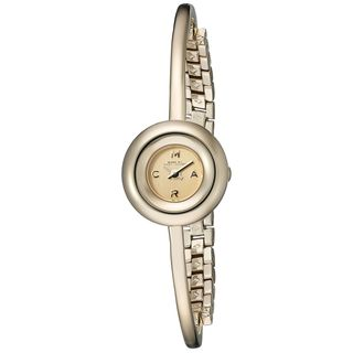 Marc Jacobs Women's MBM3434 'Dinky Donut' Gold-Tone Stainless Steel Watch