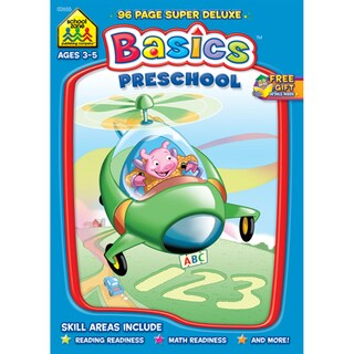 Super Deluxe WorkbookPreschool Basics Ages 35