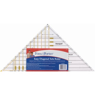 Fons & Porter Easy Diagonal Sets Ruler3in To 12in