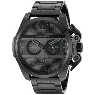 Diesel Men's DZ4362 'Ironside' Chronograph Black Stainless Steel Watch