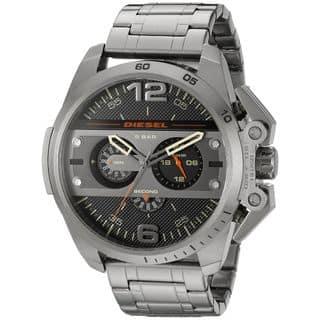 Diesel Men's DZ4363 'Ironside' Chronograph Grey Stainless Steel Watch|https://ak1.ostkcdn.com/images/products/10561697/P17639738.jpg?impolicy=medium