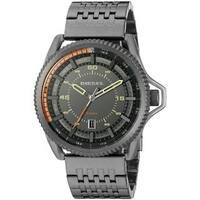 Diesel Men's DZ1719 'Rollcage' Black Stainless Steel Watch