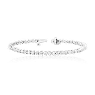Auriya 2 Carat TW Diamond Tennis Bracelet 14k Gold 7 Inch