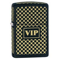 Zippo VIP Black Matte Windproof Lighter