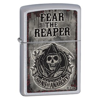 Zippo Sons of Anarchy Satin Chrome Windproof Lighter
