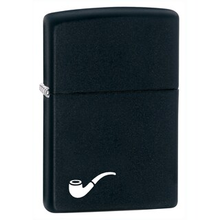 Zippo Black Matte Pipe Lighter