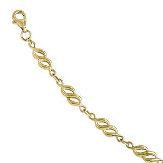 Versil 10k Gold Polished Bracelet