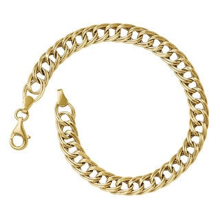 Versil 14k Gold Fancy Link Bracelet