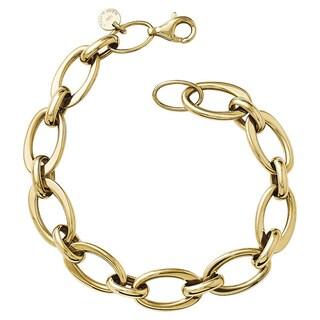 Versil 14k Gold Polished Link Bracelet